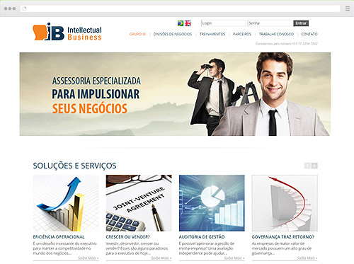 Criação de Sites - Intellectual Business