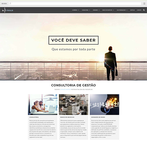 Criação de Sites - ba}Stockler