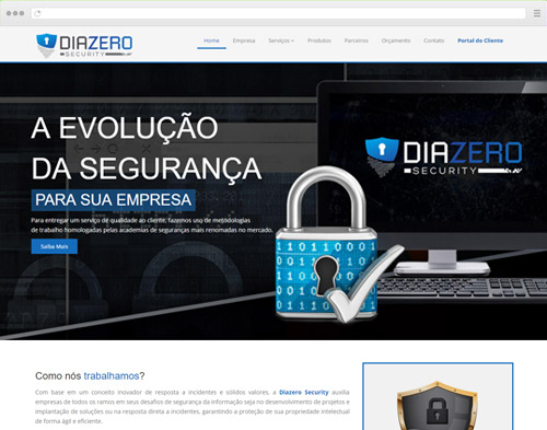 Criação de Sites - Diazero Security