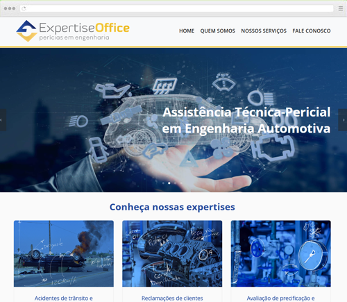 Criação de Sites - Expertise Office